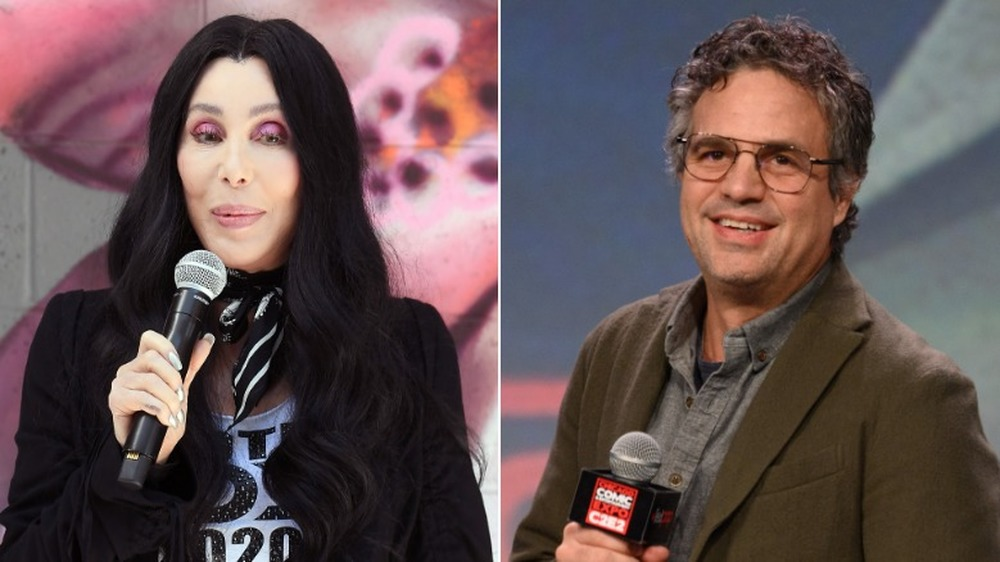 Cher og Mark Ruffalo på arrangementer