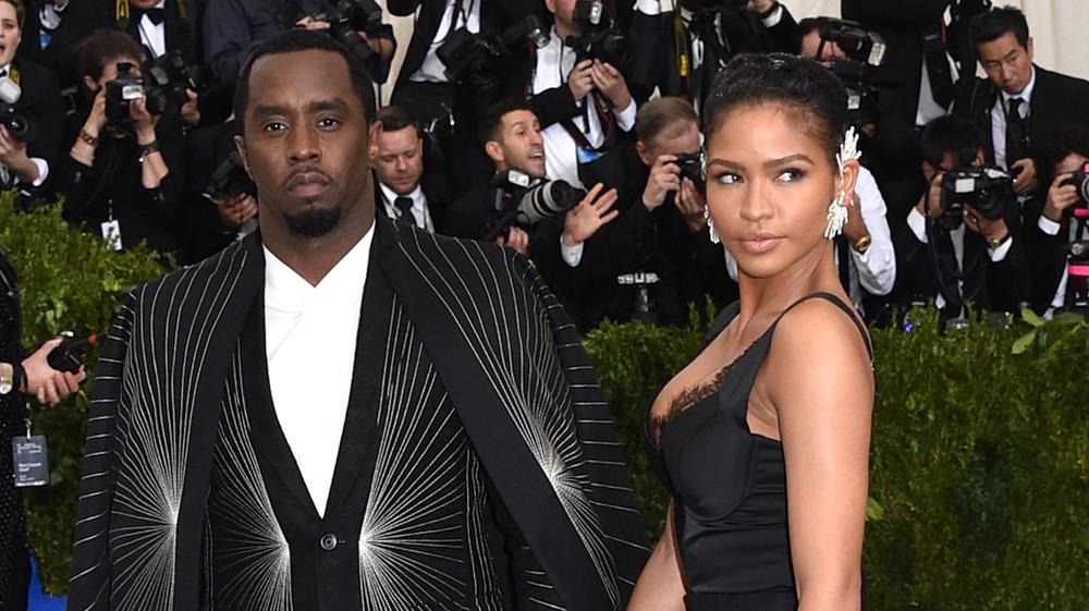 Diddy og Cassie på Met gala