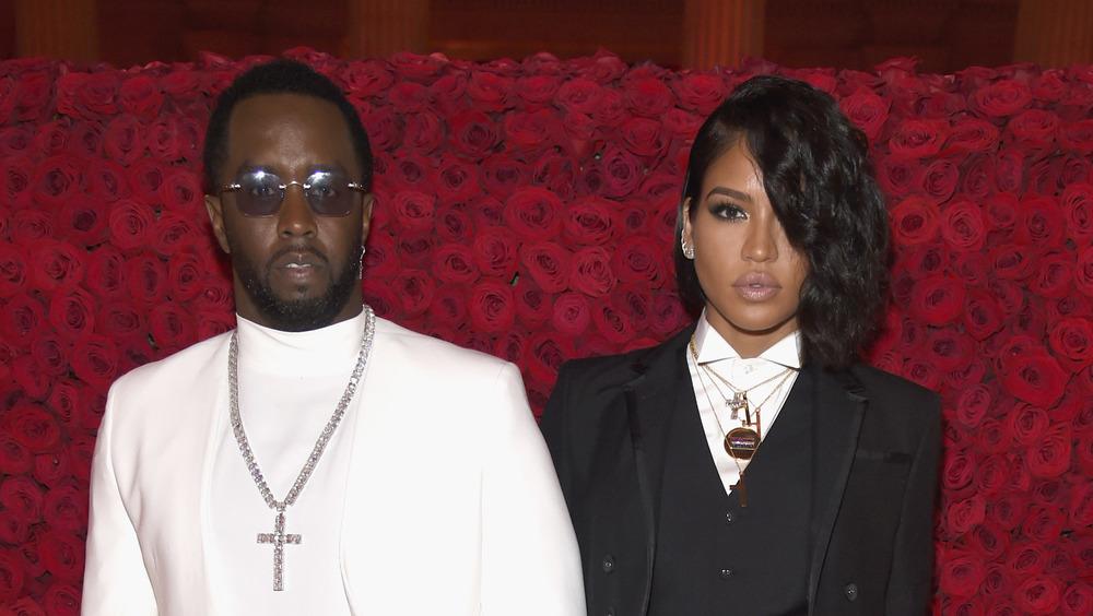 Diddy og Cassie ser alvorlige ut