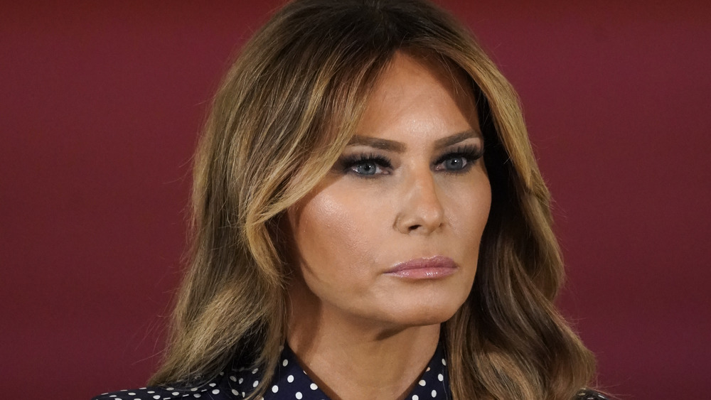 Melania Trump stirrer