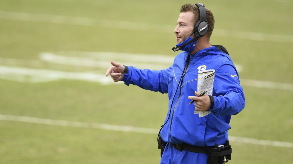 Sean McVay trener LA Rams
