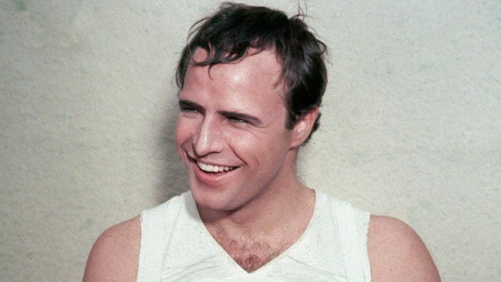 Marlon Brando smiler