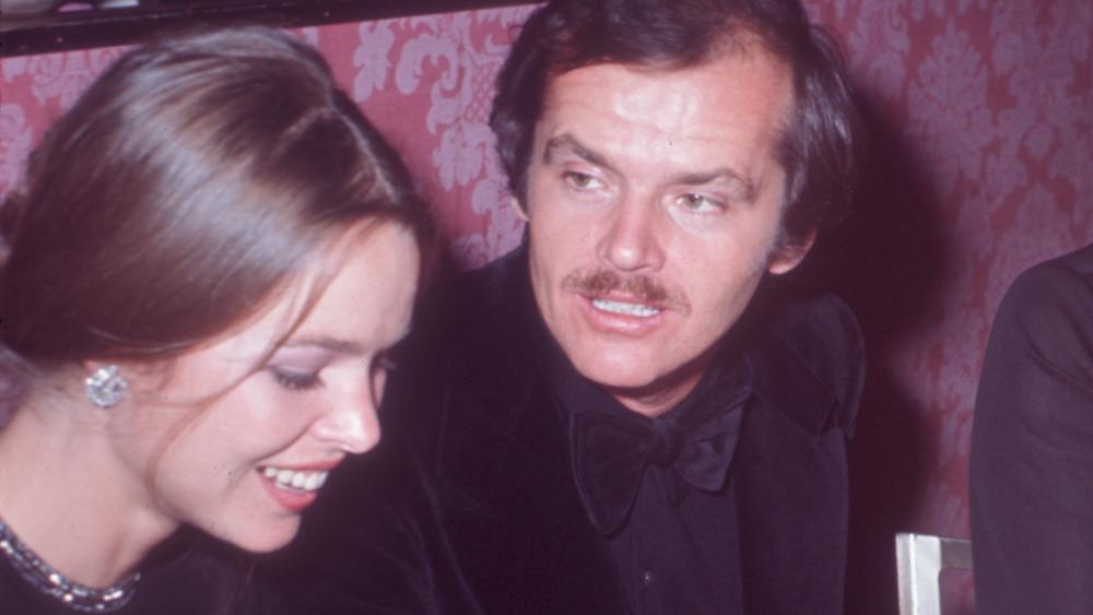 Sanger Michelle Phillips og skuespiller Jack Nicholson satt sammen