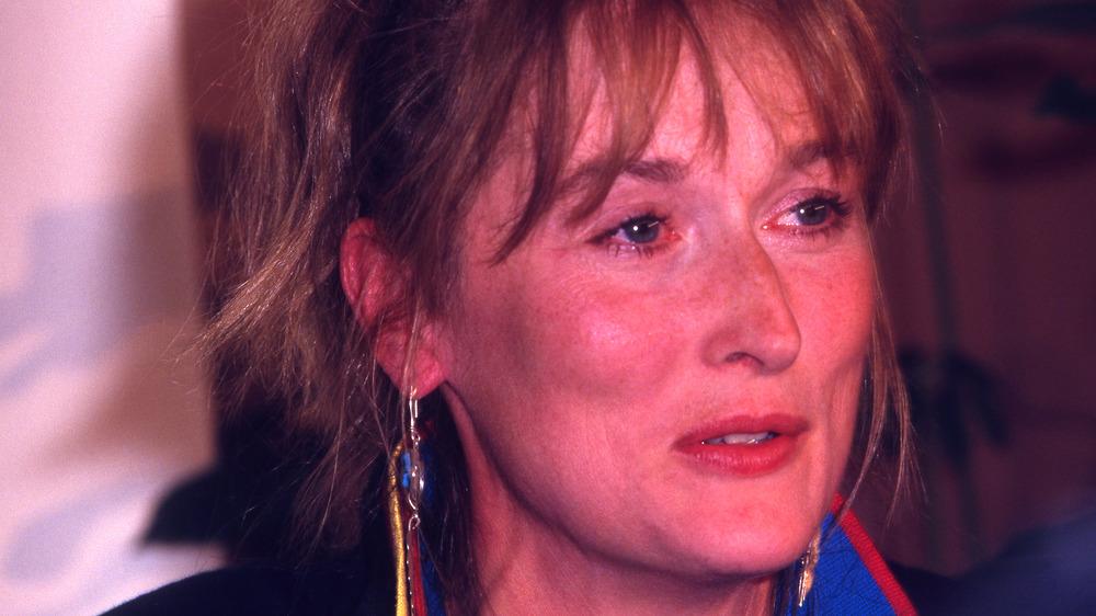 Meryl Streep på slutten av 80-tallet, snakker