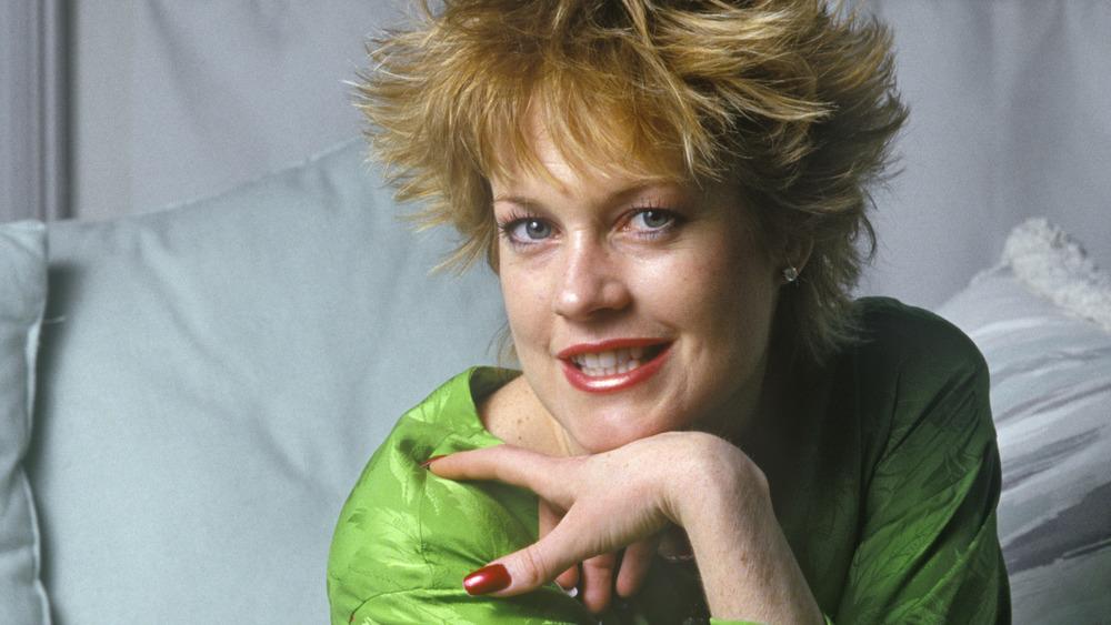 Melanie Griffith på 80-tallet og så på kameraet
