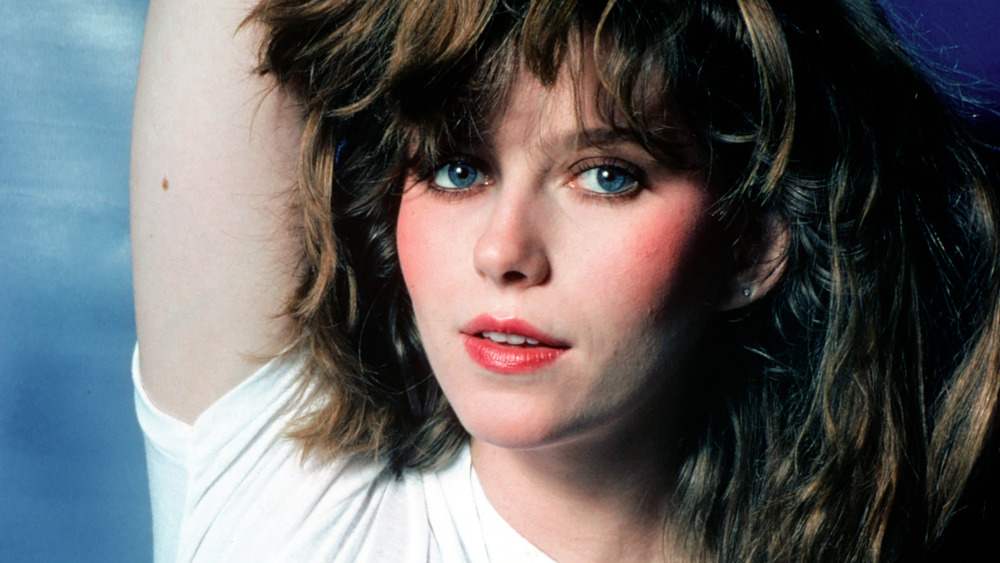 Bebe Buell circa 1980, posing