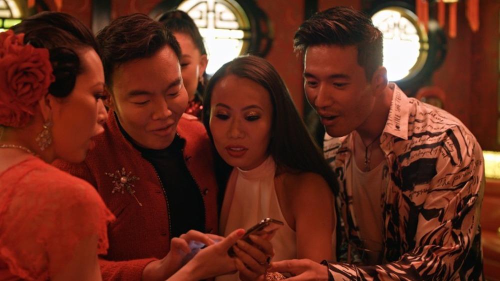 Christine Chiu, Kane Lim, Kelly Mi Li og Kevin Kreider på Bling Empire