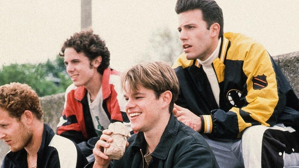 Cole Hauser dukker opp med Ben Affleck og Matt Damon i Good Will Hunting