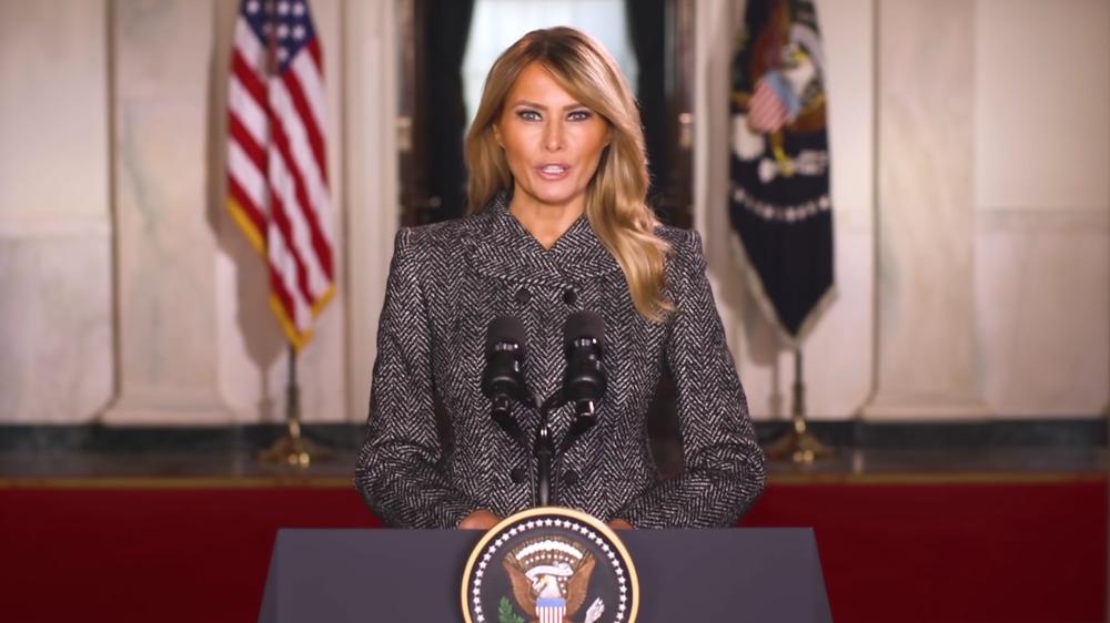 Melania Trumps avskjedstale
