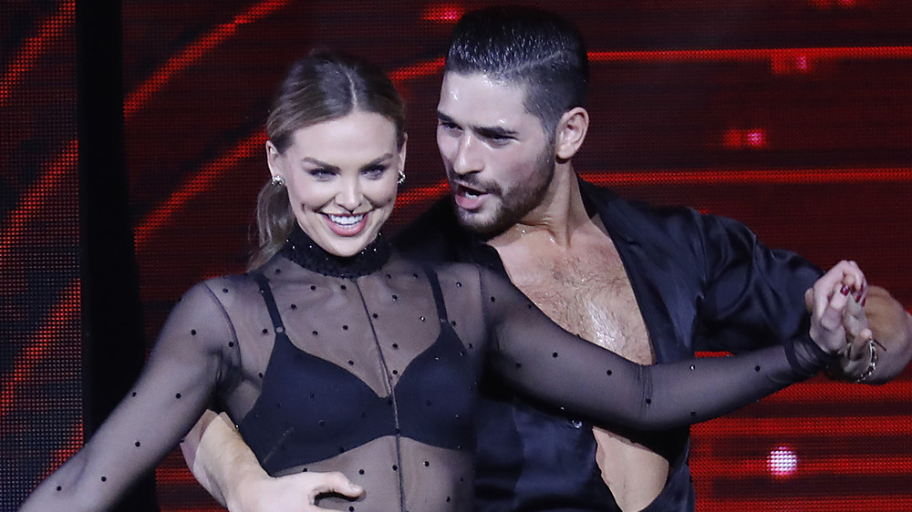 Hannah Brown og Alan Bersten danser på 'Dancing with the Stars'