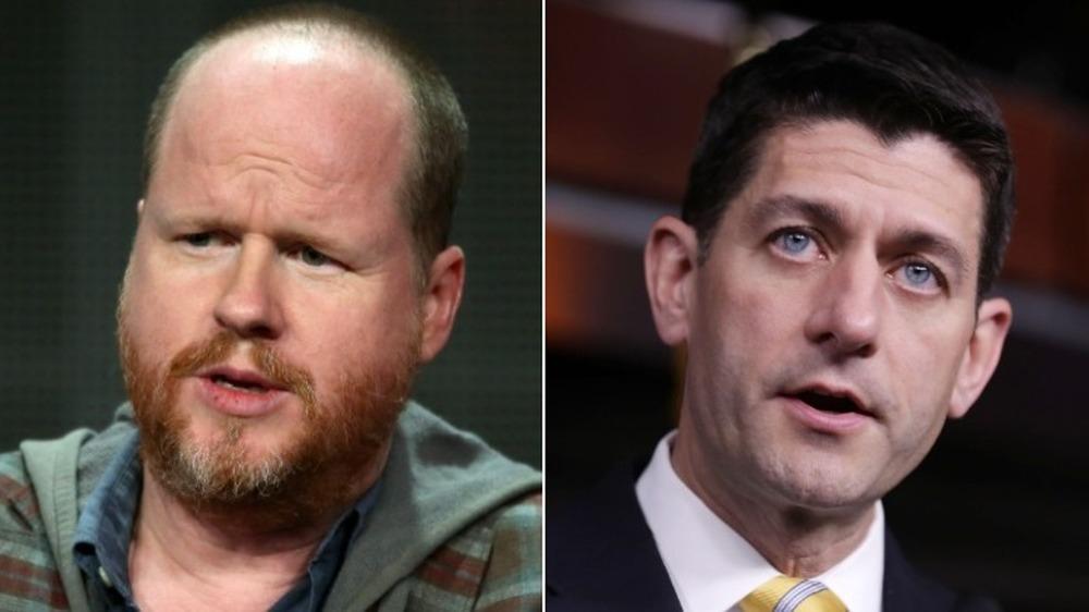 Joss Whedon og Paul Ryan snakker