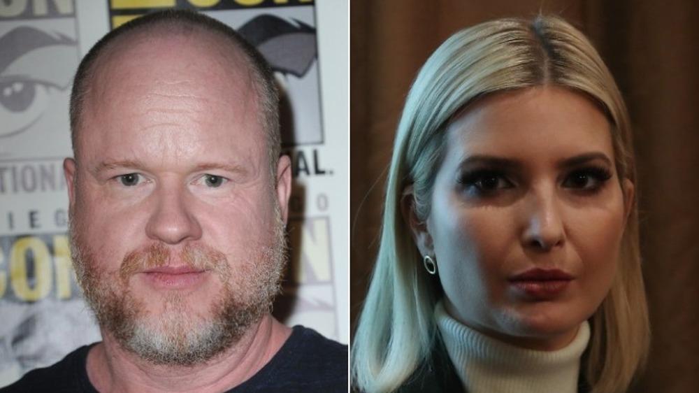 Joss Whedon og Ivanka Trump ser alvorlige ut