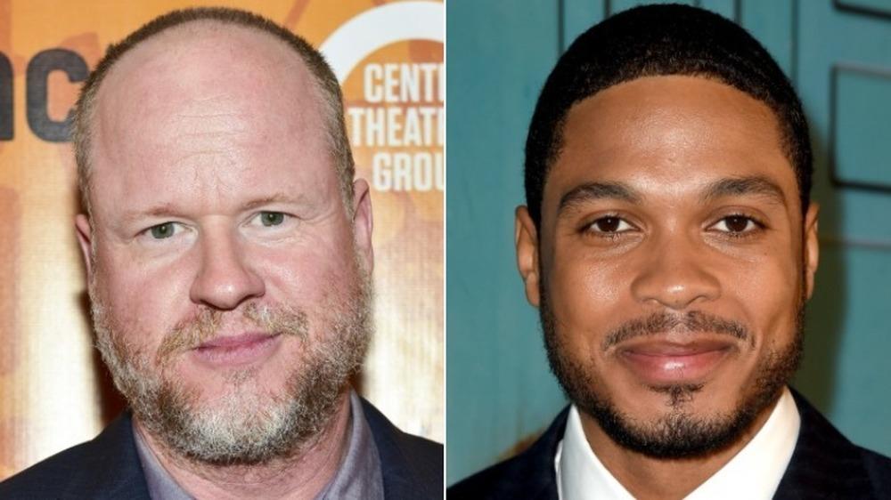 Joss Whedon og Ray Fisher gliser