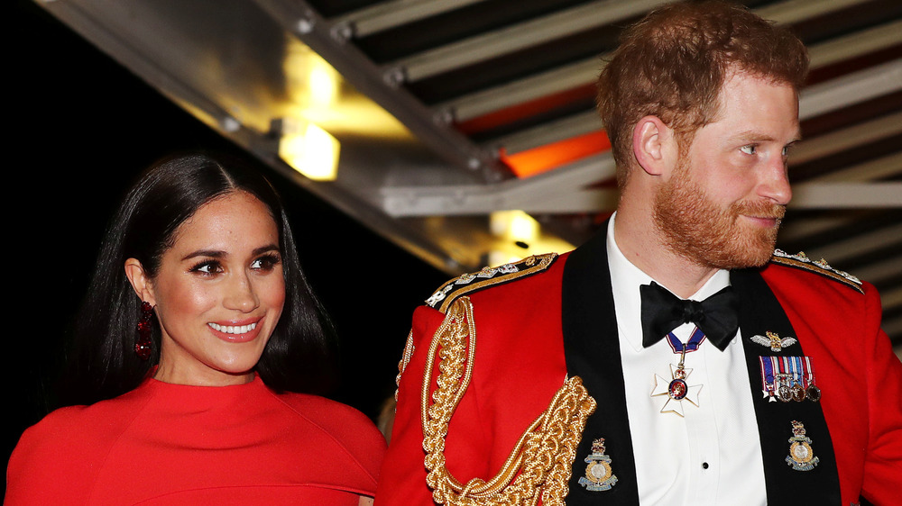 Meghan Markle og prins Harry deltok på et arrangement sammen