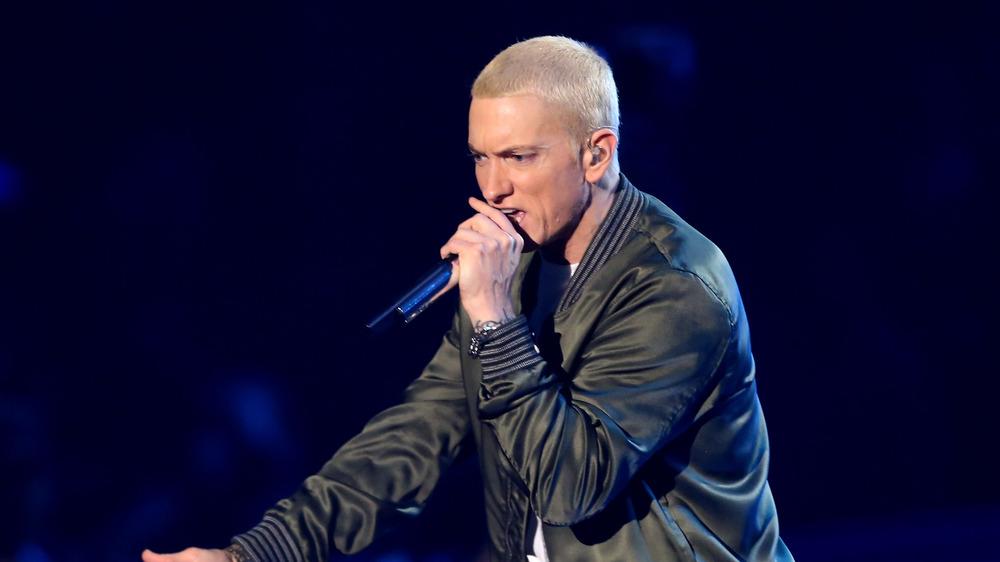 Eminem på scenen