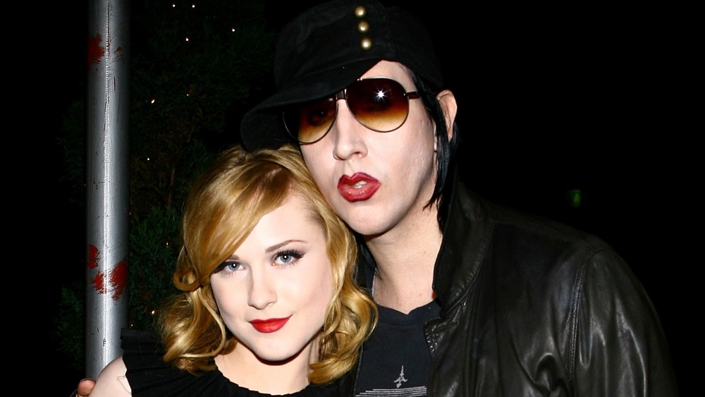 Evan Rachel Wood og Marilyn Manson