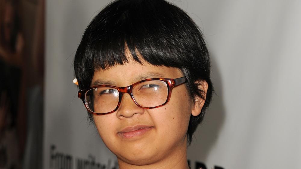 Charlyn Yi på en premiere