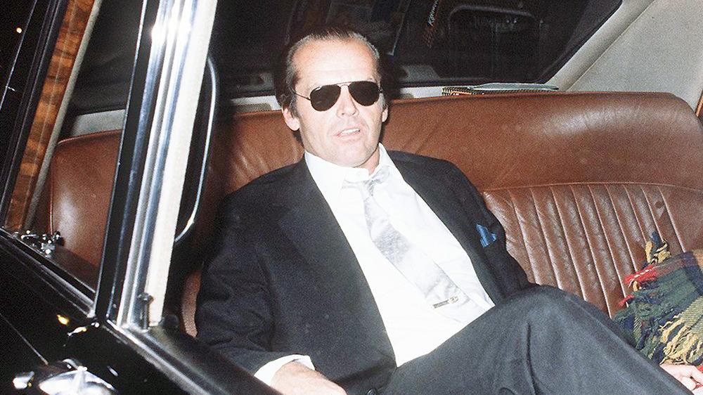 Jack Nicholson i bil