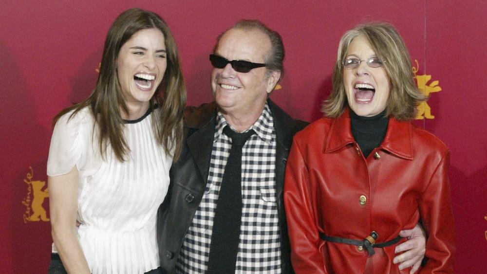 Jack Nicholson med Amanda Peet og Diane Keaton, alle ler