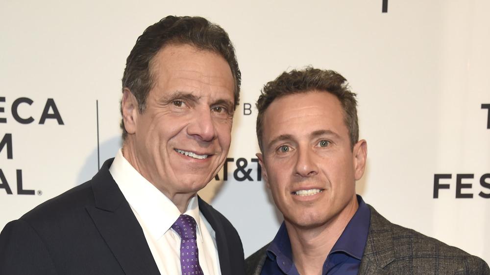 Andrew og Chris Cuomo på Tribeca Film Festival