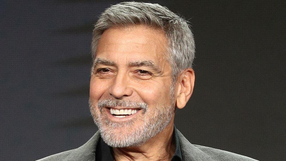 George Clooney smiler