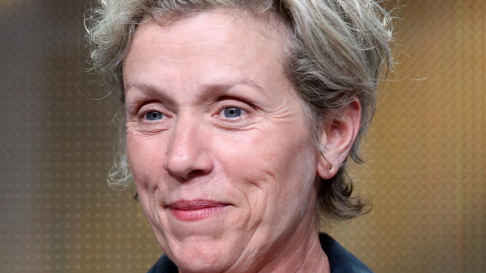 Frances McDormand smiler