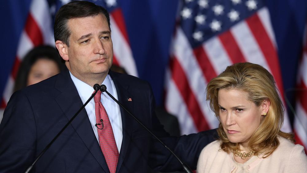 Ted og Heidi Cruz politiserer