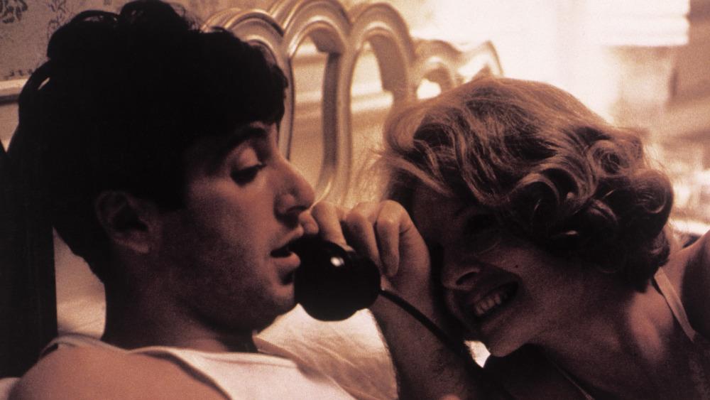 Al Pacino og Diane Keaton i The Godfather