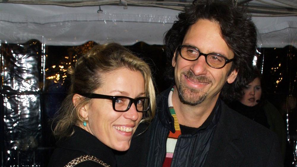 Frances McDormand og Joel Coen deltok på premieren til O Brother, Where Art Thou?  premiere i 2000