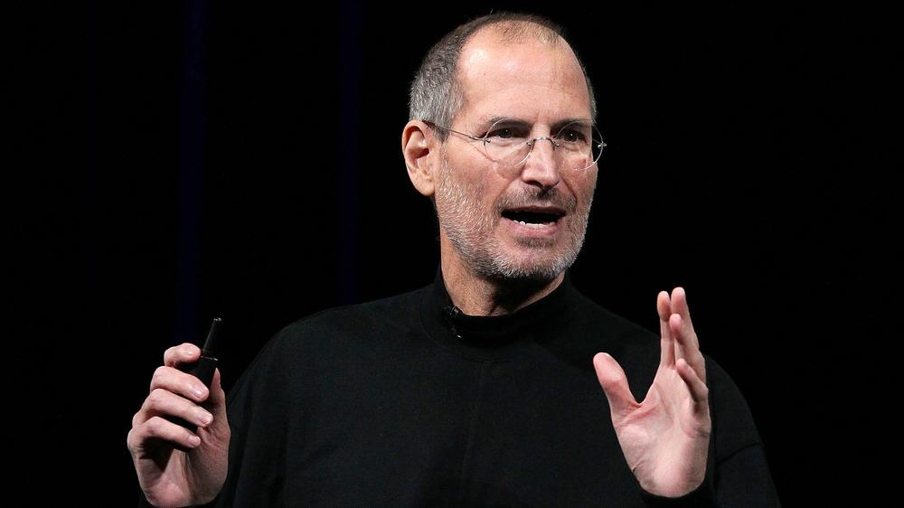 Steve Jobs snakker