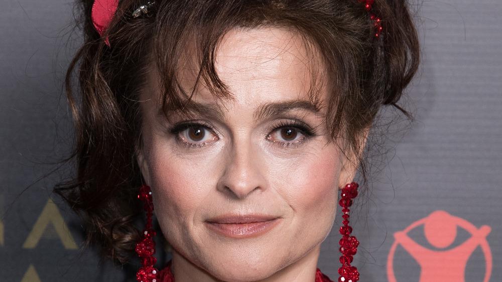 Helena Bonham Carter smiler