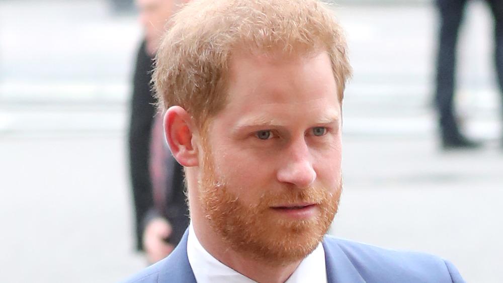 Prins Harry ved offentlig opptreden