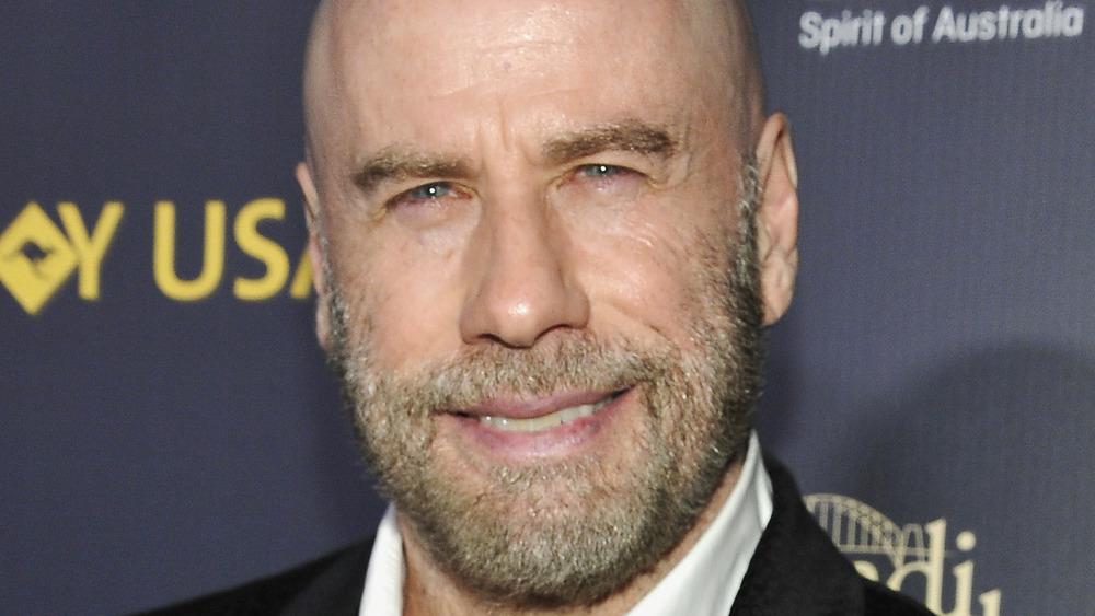 John Travolta smiler