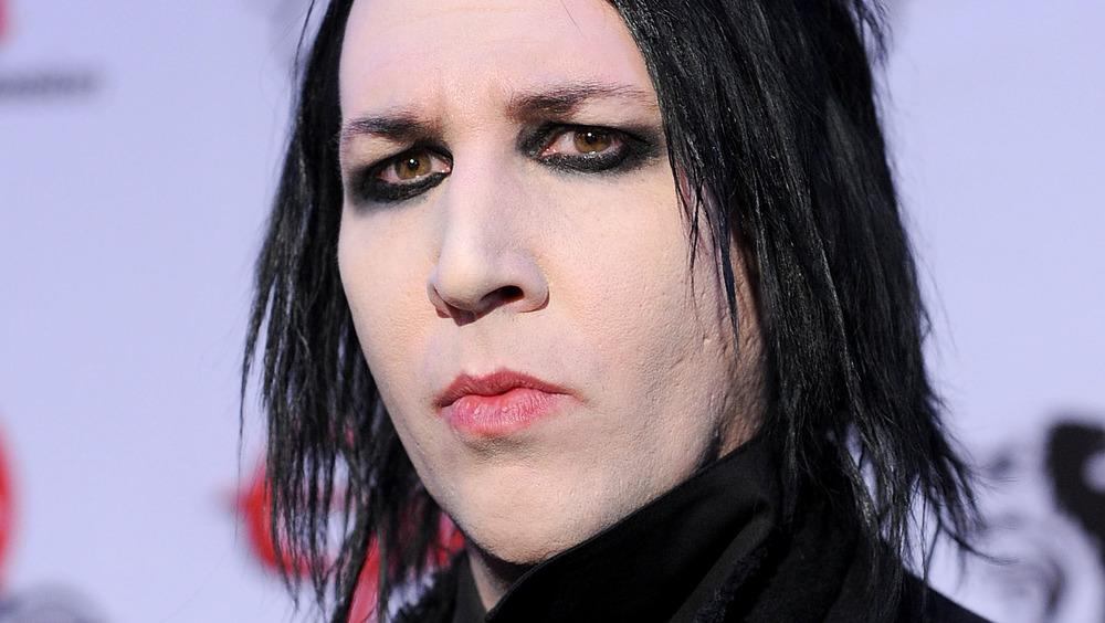 Marilyn Manson på prisutstilling