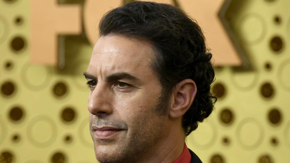 Sacha Baron Cohen stirrer