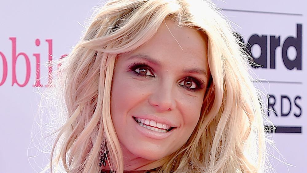 Britney Spears smiler