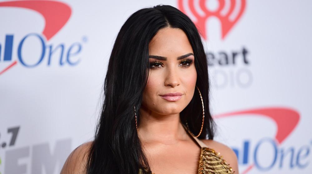 Demi Lovato på den røde løperen