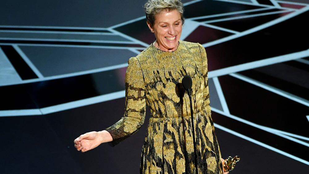 Frances McDormand på Oscar-utdelingen