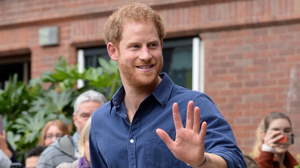 Prins Harry vinker