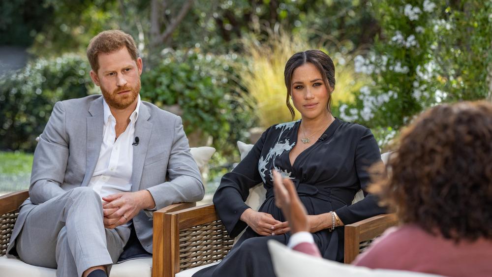 Prins Harry og Meghan snakket under deres Oprah Winfrey-intervju