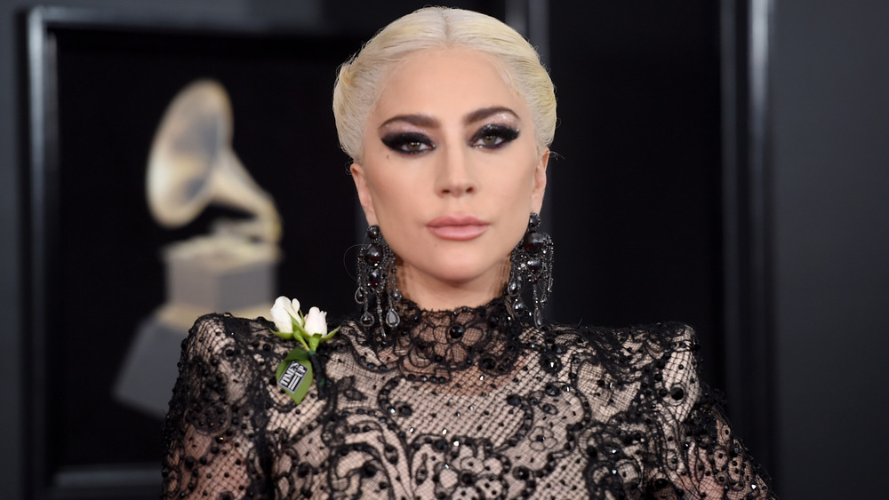 Lady Gaga blonderkjole