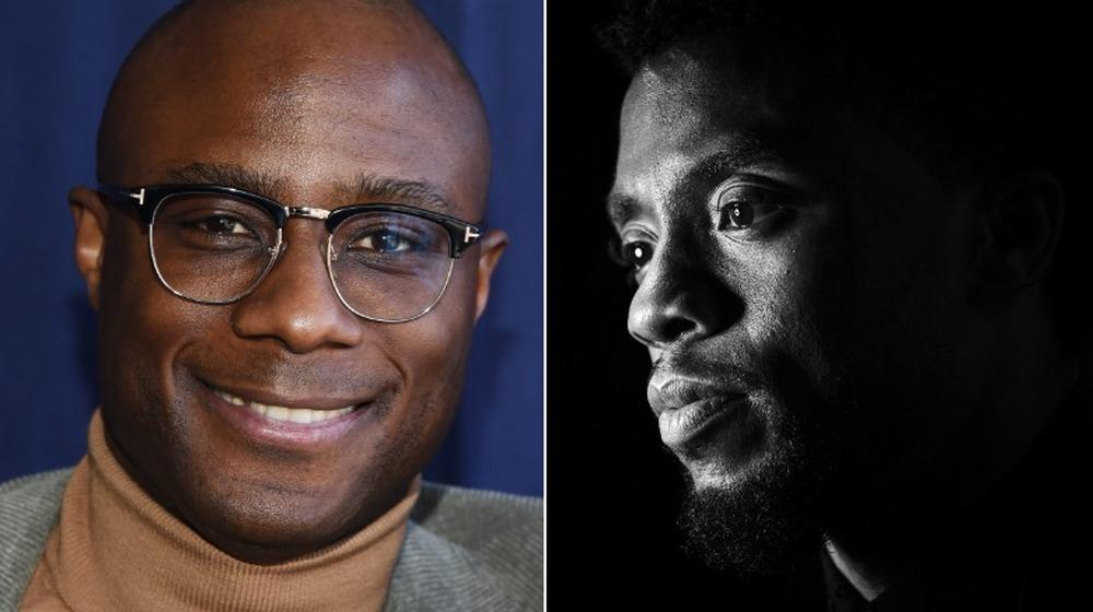 Barry Jenkins smiler, Chadwick Boseman-profil
