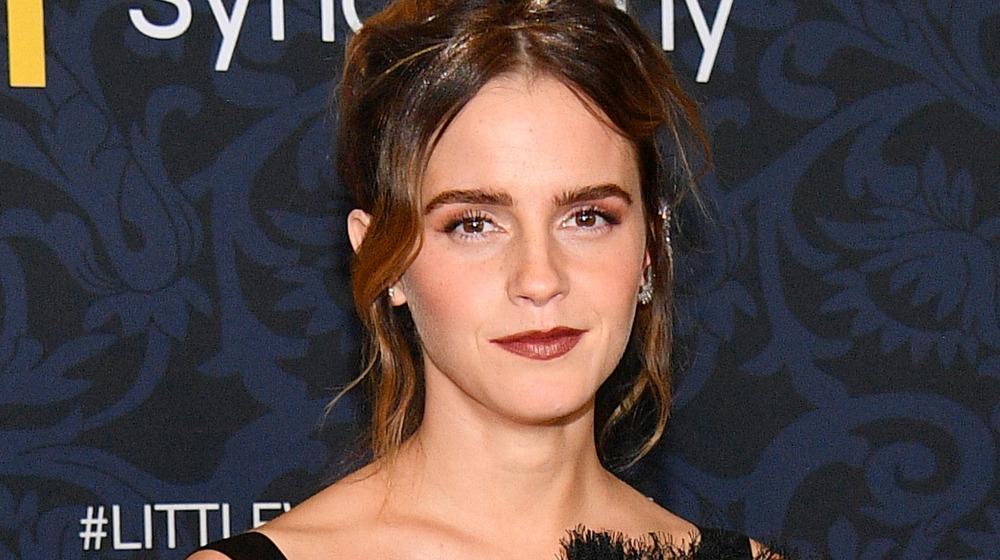 Emma Watson stiller på Little Women-premieren