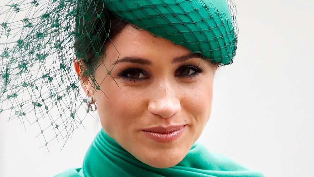Meghan Markle iført grønt på et arrangement