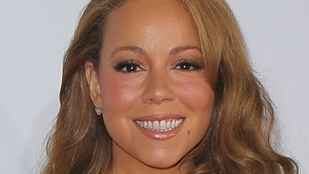Mariah Carey smiler
