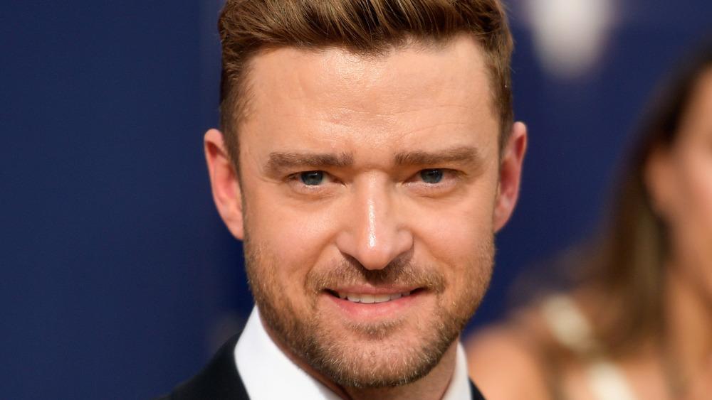 Justin Timberlake smiler