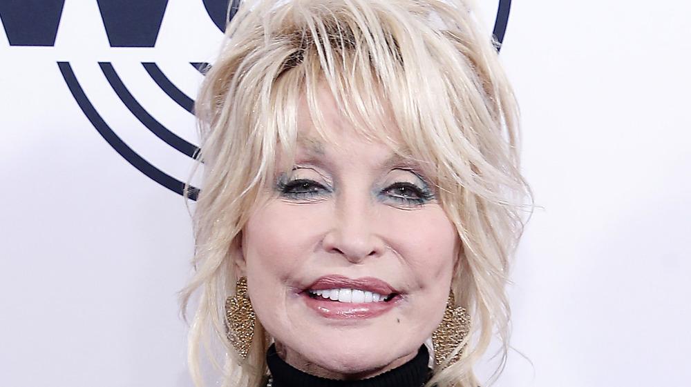 Dolly Parton smiler