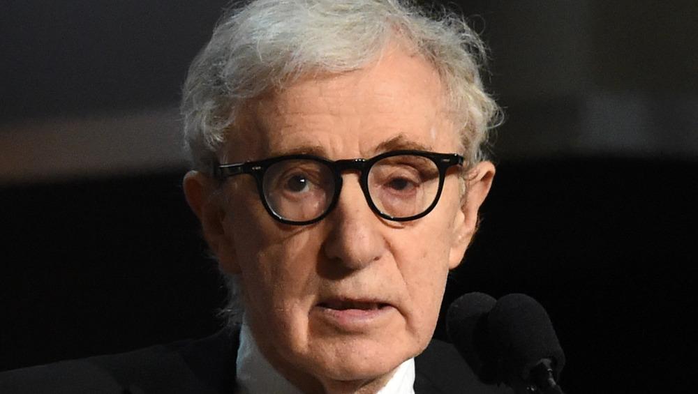 Woody Allen nærbilde