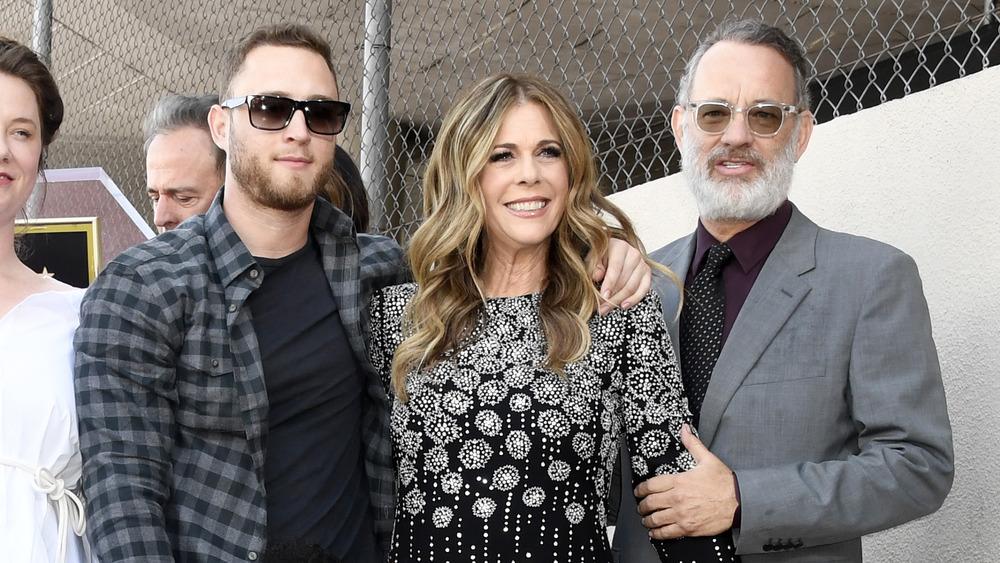 Chet Hanks, Rita Wilson og Tom Hanks stiller