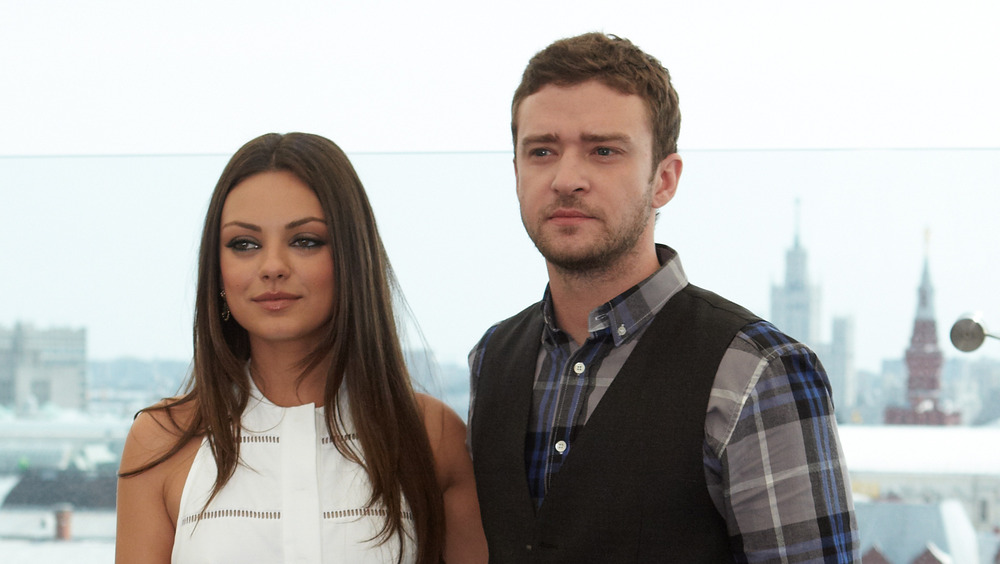 Justin Timberlake med Mila Kunis